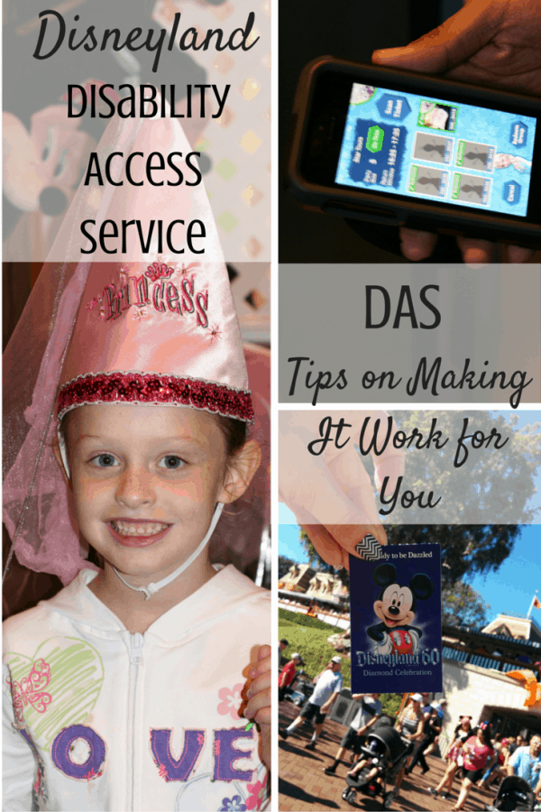 Disneyland's Disability Access Service (DAS) - Tips on Making It Work for You and Your Family