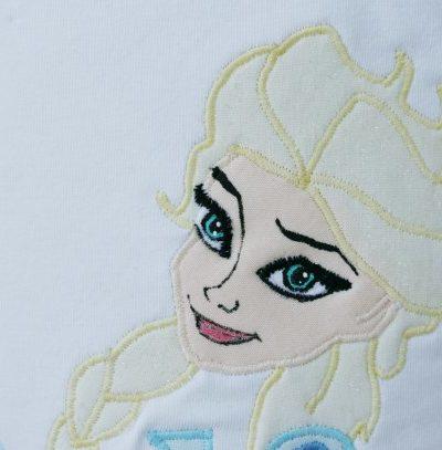 DIY Feature – Appliqued Elsa T-Shirt