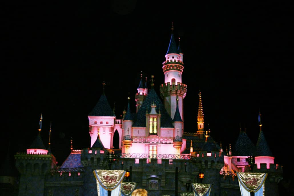 Sleeping Beauty Castle at Disneyland - Click through for ideas on celebrating a birthday {Saving Up for Disney}