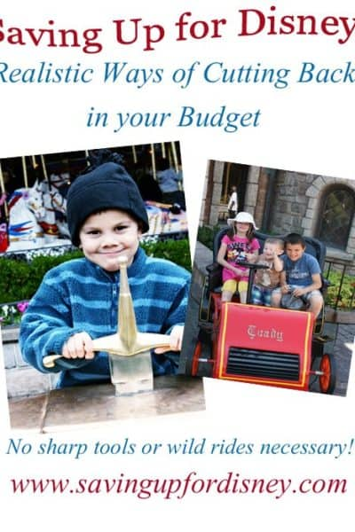 Budgeting Steps to Savings – Realistic Ways of Cutting Back in Your Budget