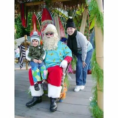 Christmas at Disneyland – Meeting Santa