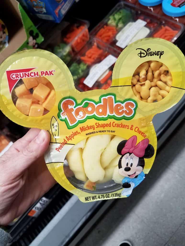 Disney Foodles kid's snacks