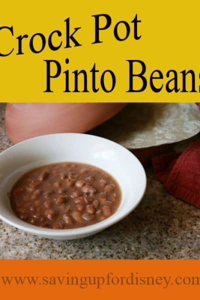 Eat at Home and Save – Slow-Cooker Pinto Beans