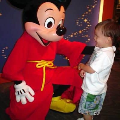 Disneyland Magical Moments – Meeting Mickey for the first time