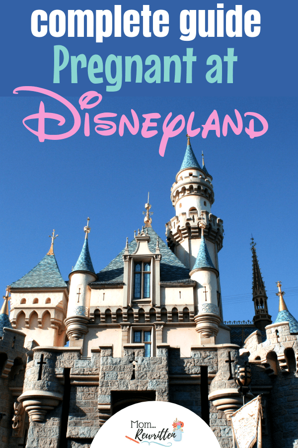Pregnant at Disneyland? This guide gives the tips on what pregnant women can ride & what they should skip at the California theme parks. Find out exactly what expectant moms can do inside both Disneyland and Disney California Adventure, ideas on what to pack & how to enjoy your family vacation in all three trimesters! #Disneyland #Disney #Pregnant | Disney Travel Tips | Travel with Kids | Family Travel | Pregnant Travel | Babymoon