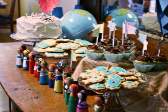 It's a Small World Birthday Party - Budget party tips!