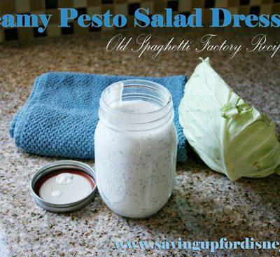 DIY Recipe for Spaghetti Factory's Creamy Pesto Salad Dressing