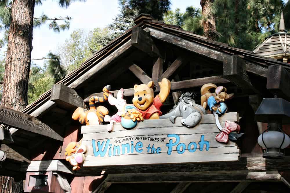 Winnie the Pooh Disneyland ride