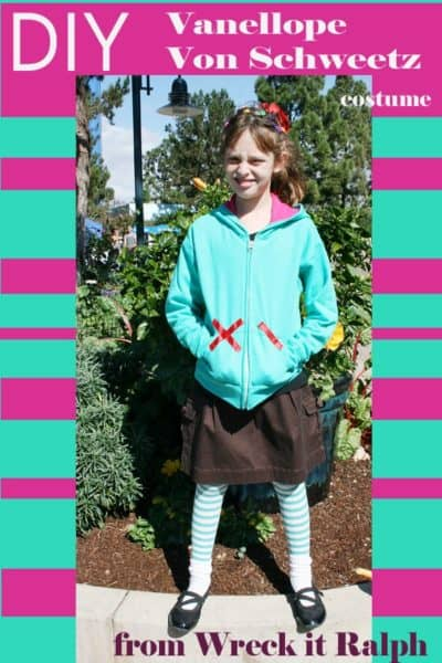 Halloween on a Budget – #DisneyBound Vanellope Von Schweetz