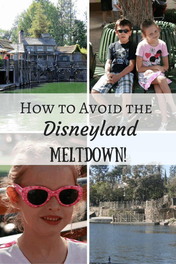 Top tips on avoiding the Disneyland Meltdown including quiet spots in the park and helpful advice.