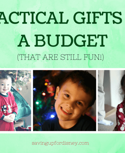 Practical Gifts on a Budget (that are still FUN!)