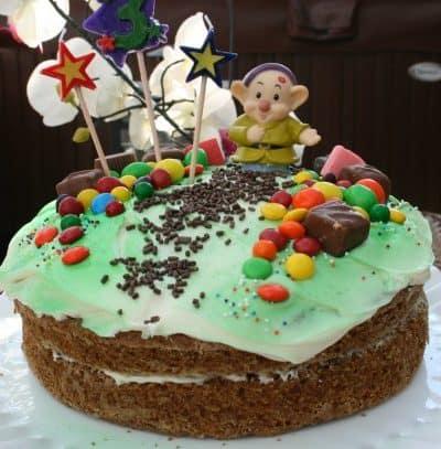 #DisneySide Birthday Party on a Budget – Seven Dwarves Mine Train