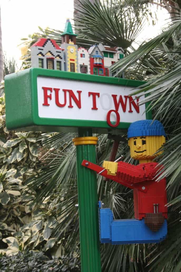LEGOLAND Funtown sign