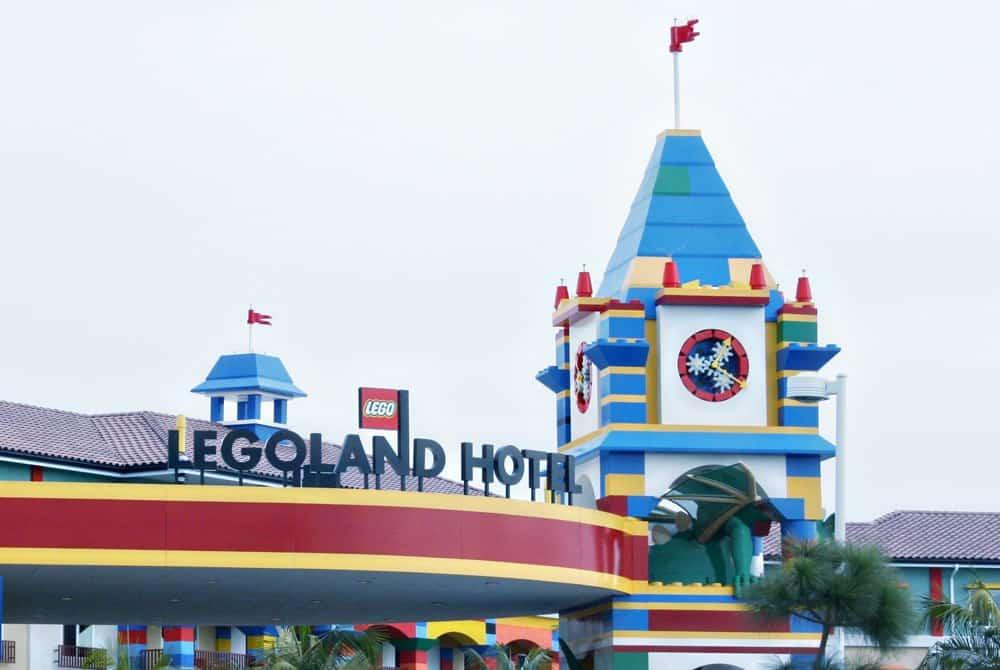 LEGOLAND Hotel front entrance