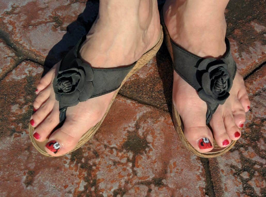 Best Shoes for Disney Parks - Why I Love Open-toed Sandals!