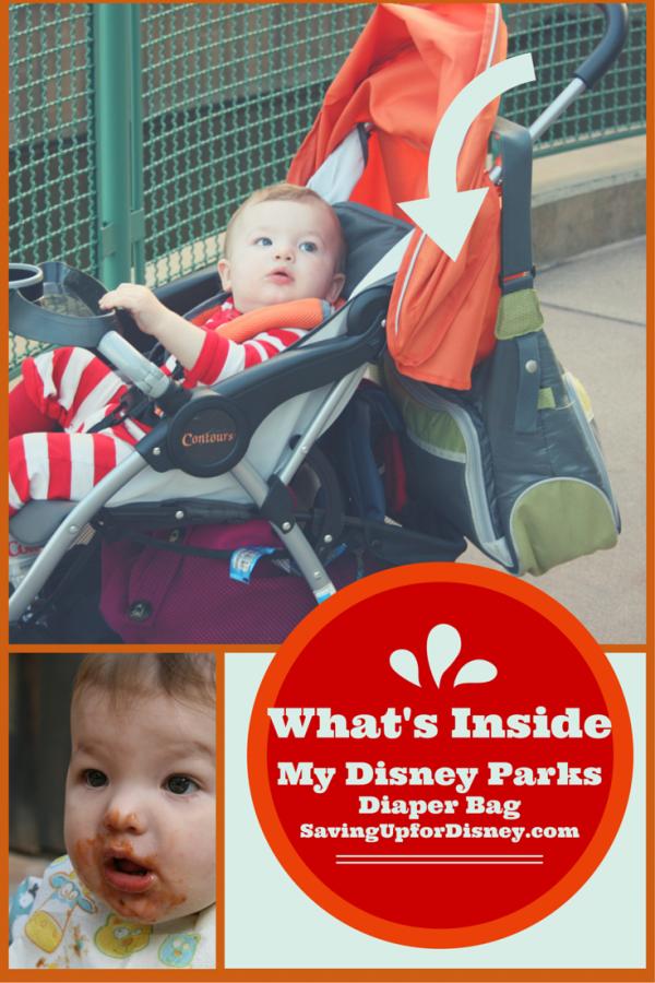 What's in my Disney Parks Diaper Bag?