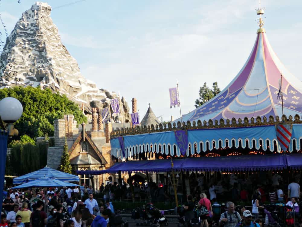 Fantasyland at Disneyland
