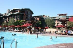 Pool at Disney's Grand Californian Hotel