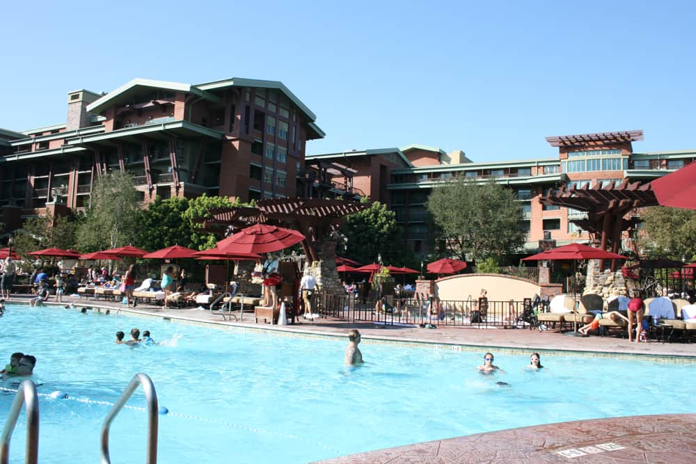 Pool at Disney's Grand Californian Hotel