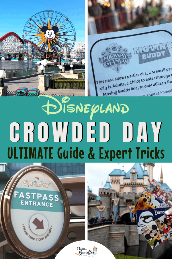 Worried about the crowds at Disneyland? These are the must-know insider tips for planning a family vacation that includes Disney California Adventure park and Disneyland during a busy season! Find out how to maximizing your time, navigate crowds and make the most of your Disneyland resort vacation even when it's packed. #Disney #Summer #DisneyTravel #DisneyTips | Travel with Kids | Travel with Kids | Family Travel | Anaheim | Star Wars Land | Galaxy's Edge
