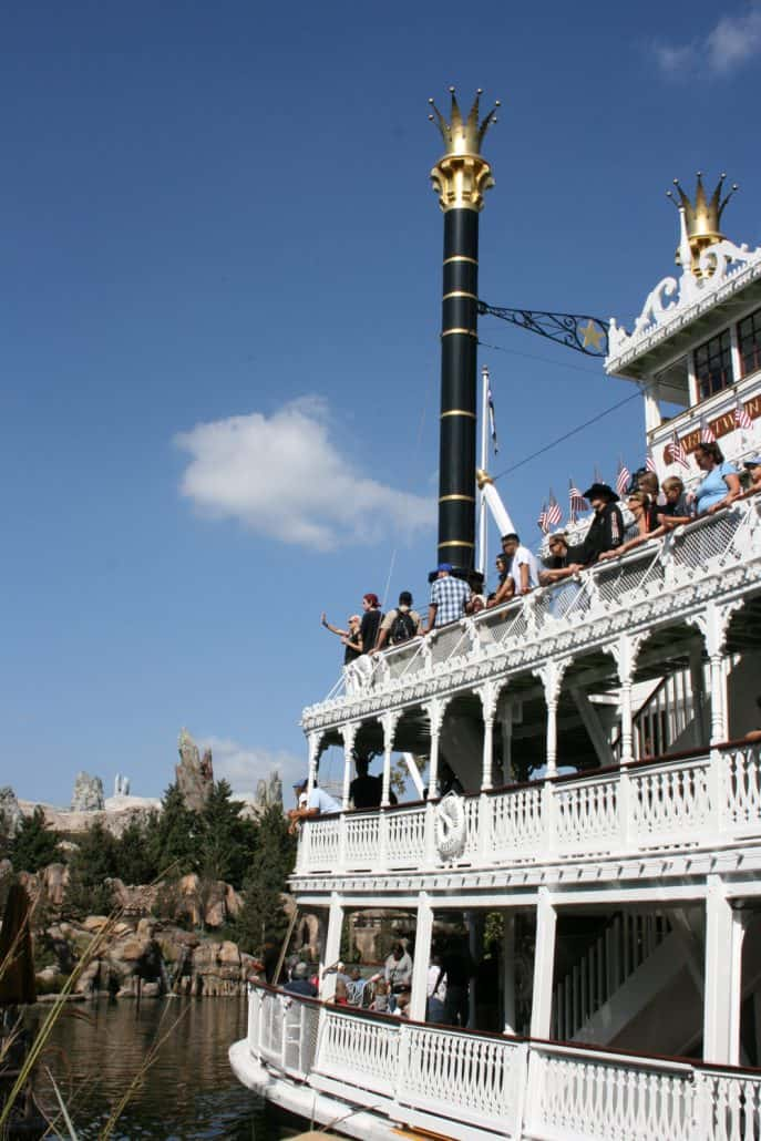 Rivers of America Disneyland Mark Twain Riverboat