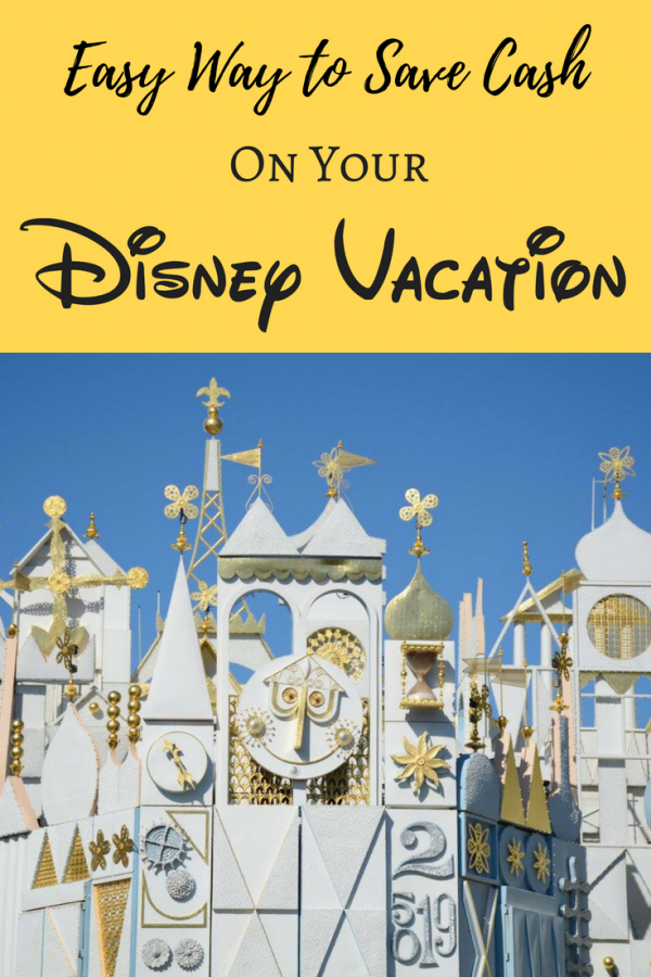 Save cash on Disney vacations? Yes, this one easy trick can save you a good amount & give you cash back on your Disney vacation booking!