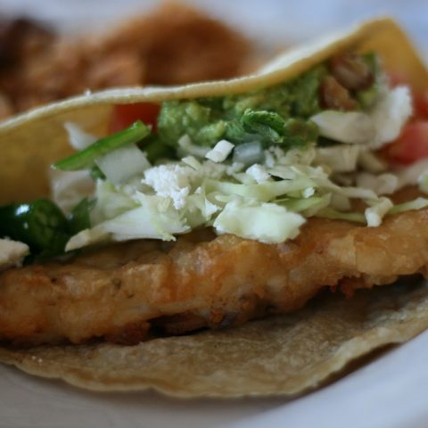 SoCal Style Fish Tacos Recipe