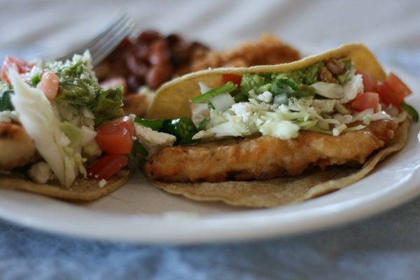 Fresh SoCal Style Fish Tacos Recipe