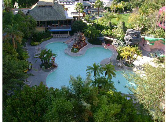 Neverland Pool at the Disneyland Hotel