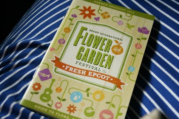 Epcot flower and garden festival guidebook