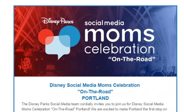 Disney Social Media Moms Celebration - On-the-Road in Portland