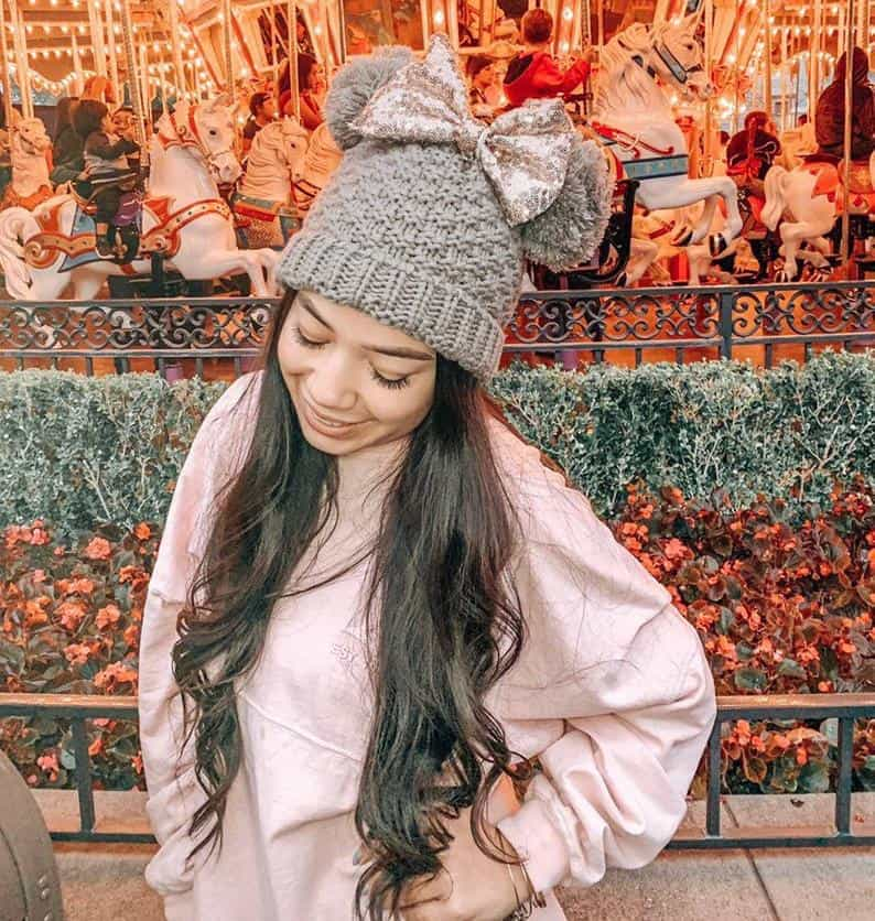 Mouse ears beanie from etsy shop