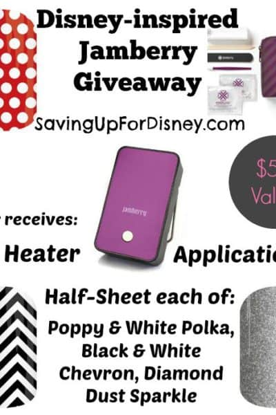 Disney-inspired Jamberry Giveaway Sweepstakes!