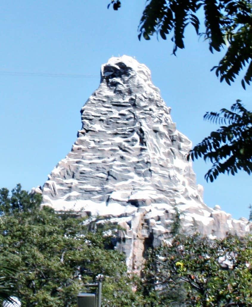 Disneyland Matterhorn Bobsleds