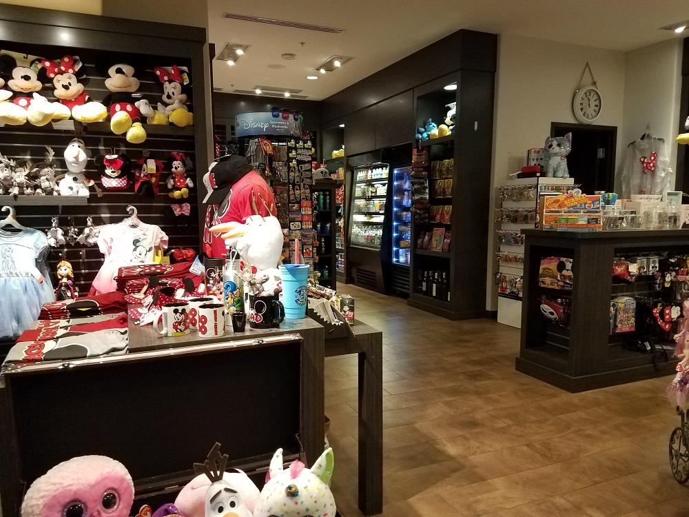 Inside of Courtyard Anaheim gift shop