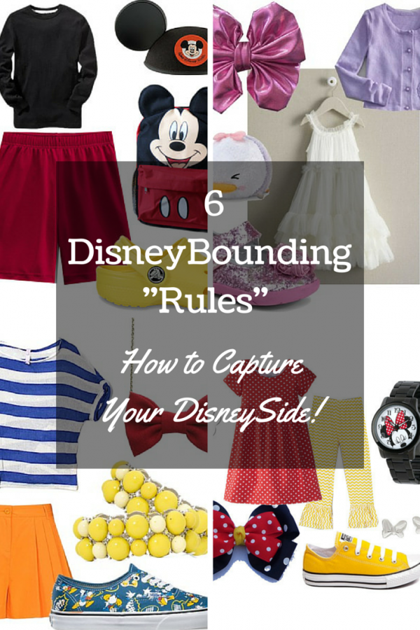 "6 DisneyBounding ""Rules"" - How to Capture Your DisneySide!"