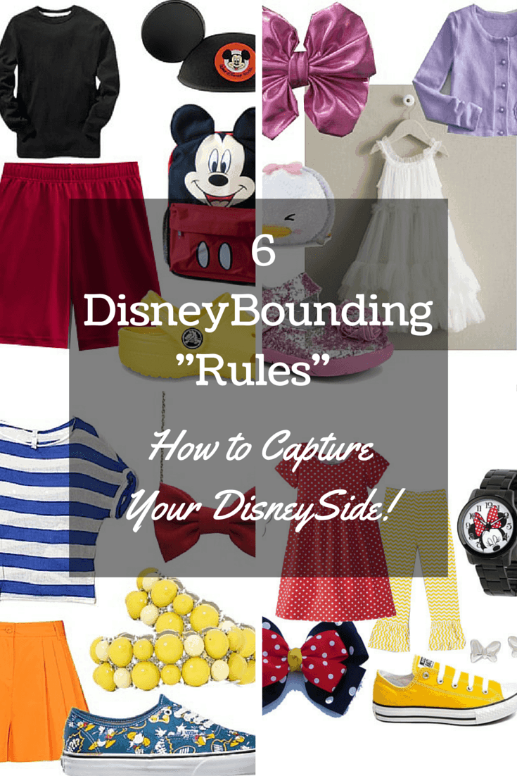 Today we are sharing disneybounding ideas for you and your family