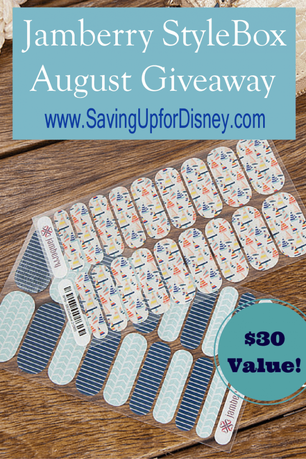 Jamberry Giveaway - Set Sail with August's Jamberry StyleBox