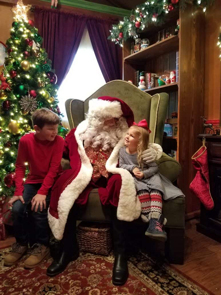 SeaWorld San Diego Christmas Celebration Santa's Chalet