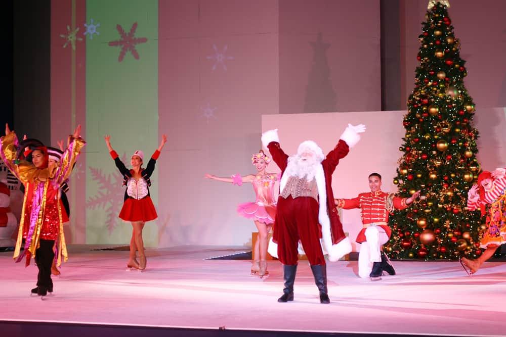 SeaWorld San Diego Christmas Celebration Winter Wonderland on Ice