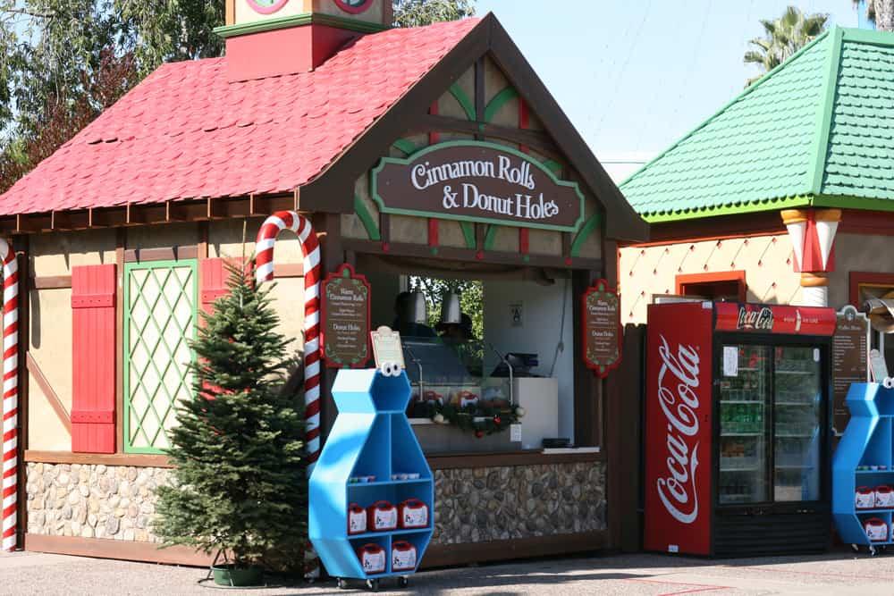 Treat chalet in SeaWorld San Diego Sesame Street Christmas Village