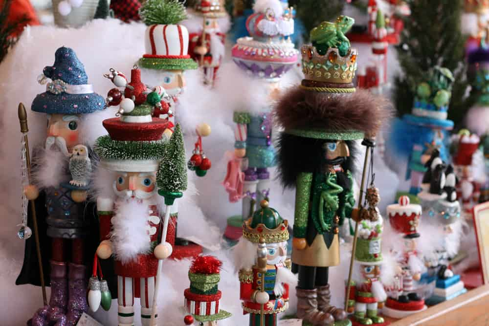 Holiday Nutcrackers on display