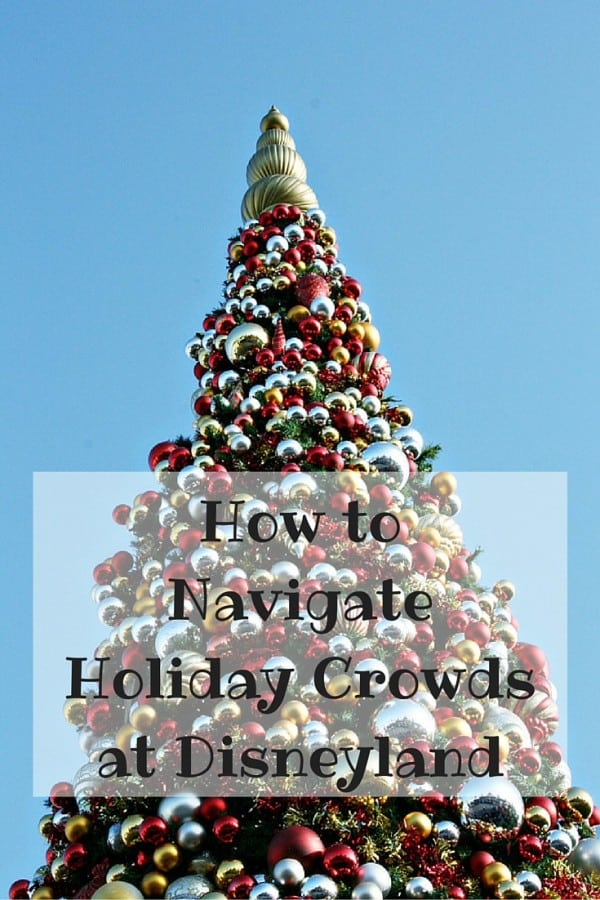 How to Navigate Holiday Crowds at the Disneyland Resort #TMOM