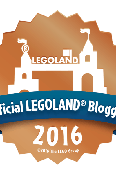 I'm an Official LEGOLAND Blogger!