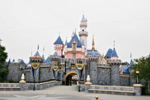 New Sleeping Beauty Castle at Disneyland