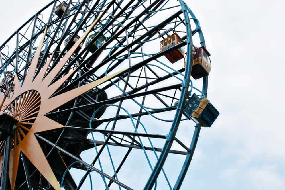 Disney California Adventure Park Pixar Pal-a-Round Ferris Wheel