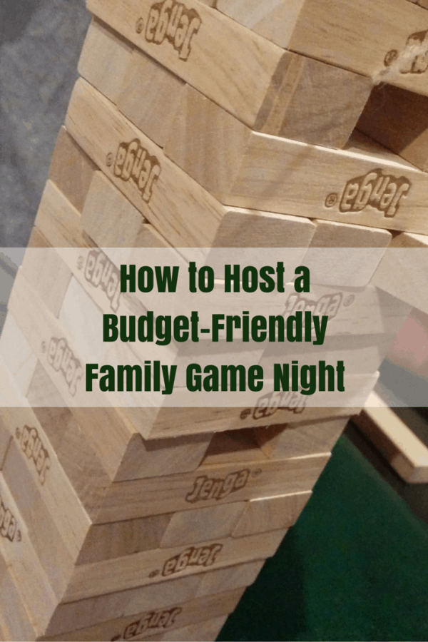 How to Host a Budget-Friendly Family Game Night #GameNightIn #ad