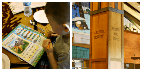 Storyteller's Cafe at Disney Grand Californian Hotel & Spa