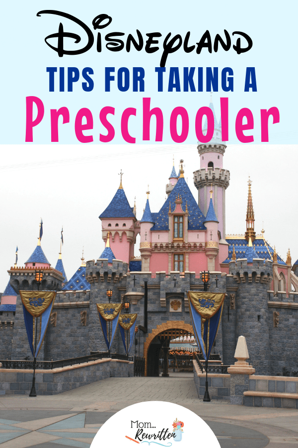 Taking a preschooler to Disneyland? These are the insider tips on what to do, best rides and attractions, what to order and eat and what to pack for the most magical day ever! #Disney #Disneyland #DisneyTips | California | Travel with Kids | Family Travel | #MomRewritten
