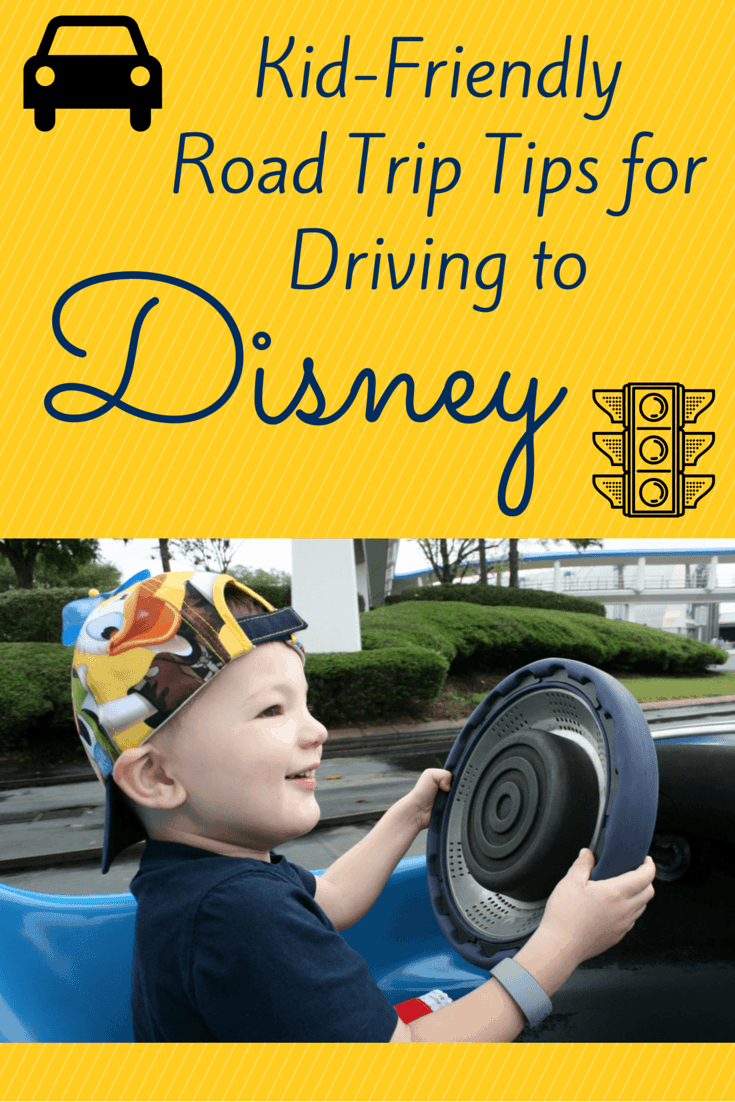 Kncok out travel boredom with these helpful Kid-Friendly Road Trip Tips for Driving to Disneyland and Walt Disney World